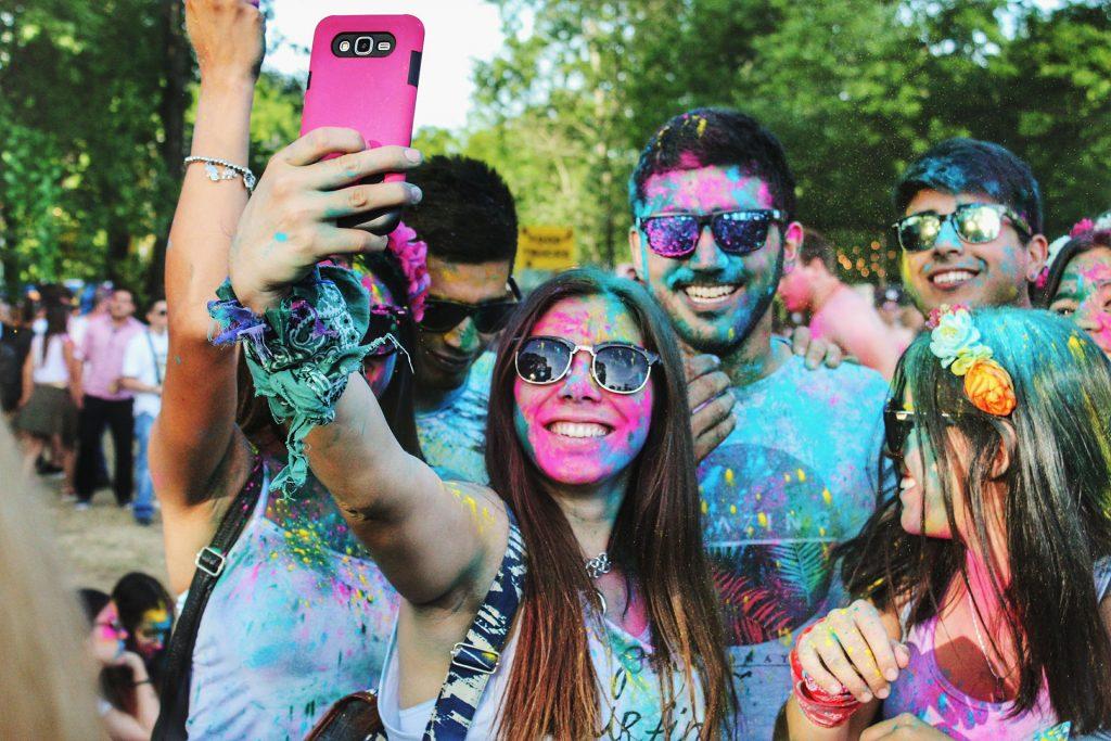 Colorful mobile life